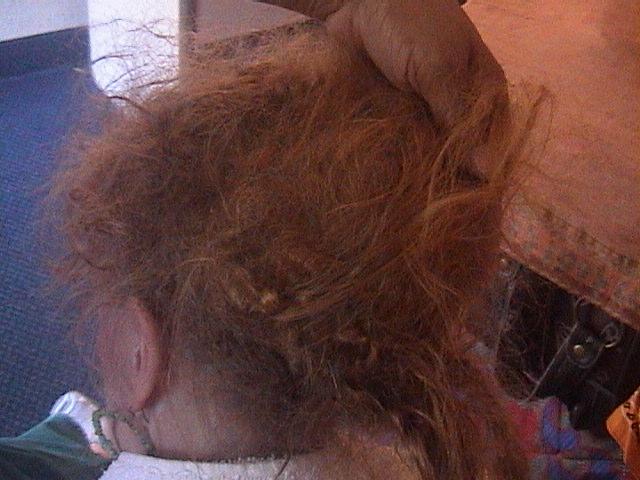 Волосы жесткие запутанные почему и