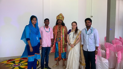Dressed up for Onam