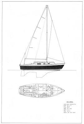 Design 1771 C2 Chris Craft Pawnee 26 ~ Noal boat