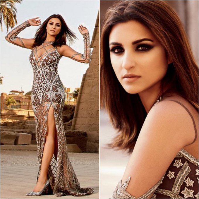 Parineeti Chopra Stunning Stills for Hello Magazine June Issue 2017