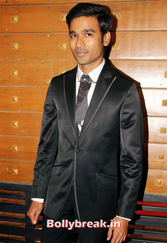 Dhanush, Filmfare Awards 2014 Red carpet Images
