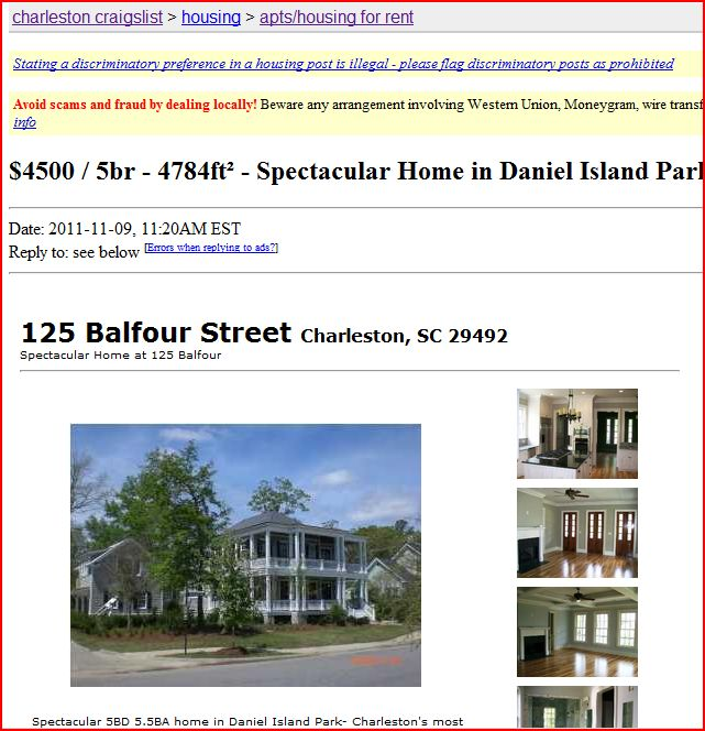 Craigs List Homes Fo Rent