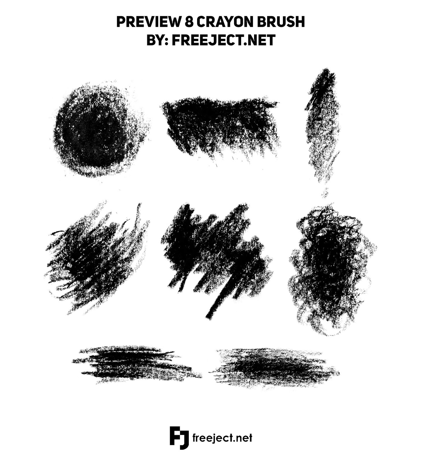 free download crayon stroke brush for photoshop abr file