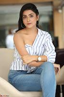 Avantika Mishra in One Shoulder Crop Top and Denim Jeggings ~  Exclusive 071.JPG