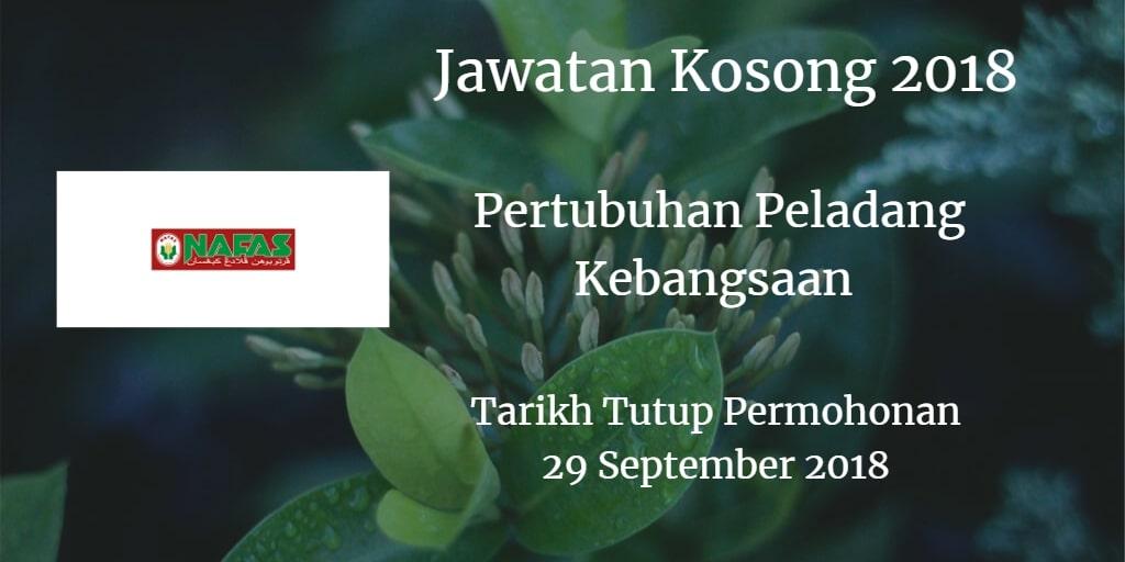 Jawatan Kosong Nafas 29 September 2018