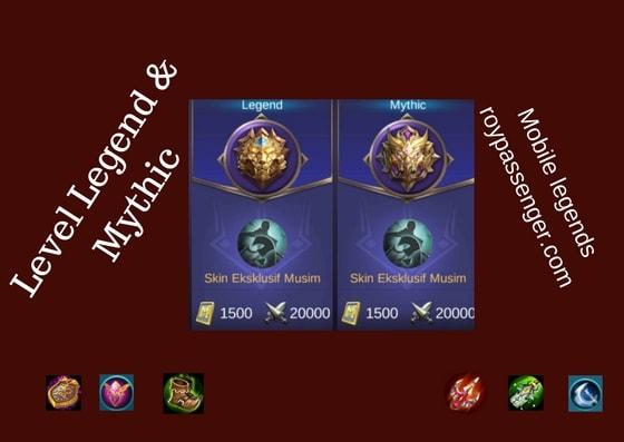 Tingkatan Level Mobile Legends dari Warrior sampai Mythic
