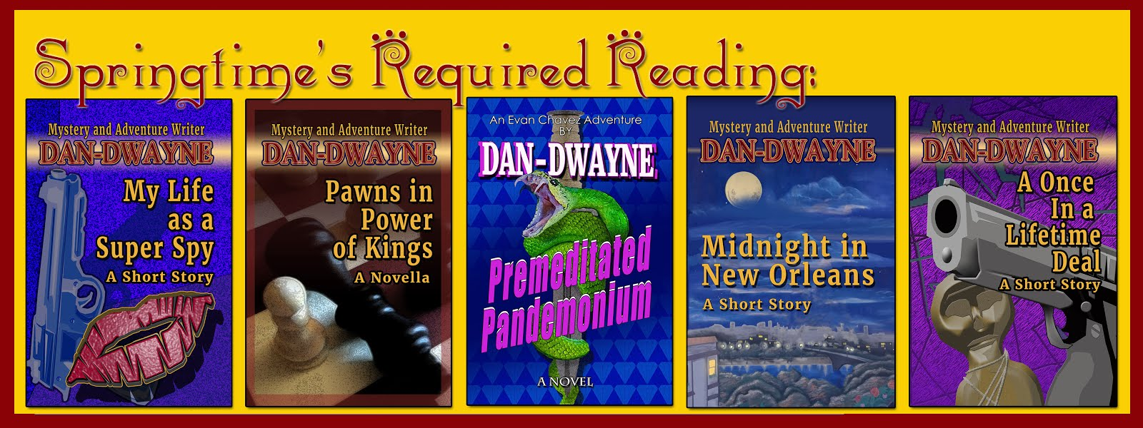 Books by Dan-Dwayne