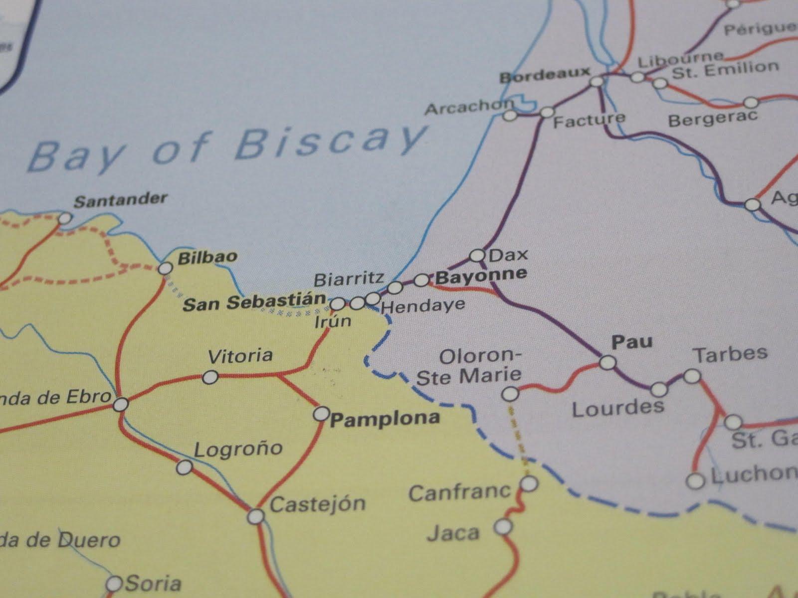 Hendaye France Map.Random Road Revelations Hendaye France Citiestips Com
