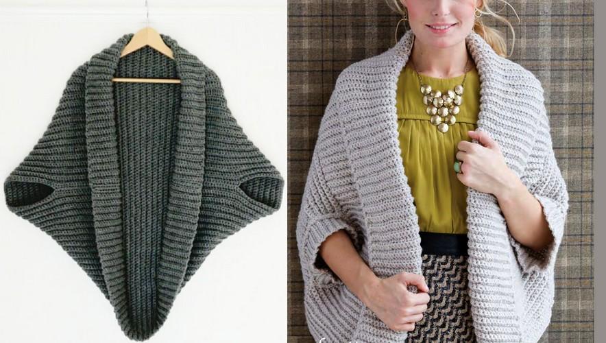 Como elaborar un Cardigan Sencillo en Crochet