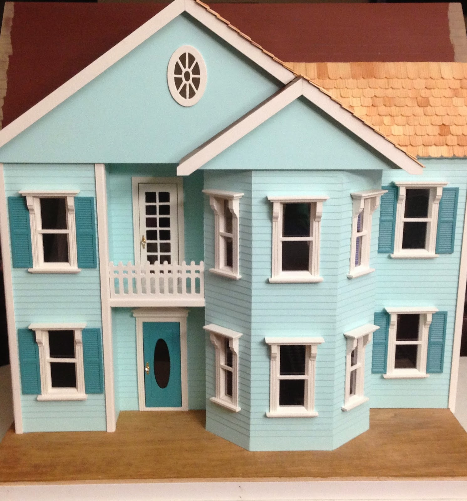 Once Upon A Doll Collection : Dollhouse Progress Update Part 8