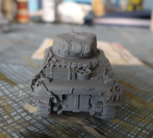 Sherman 15mm  FoW Bolt action