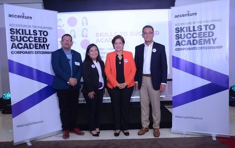 Accenture, TESDA Intro Skills to Succeed Academy