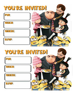 Despicable Me 3 birthday party,