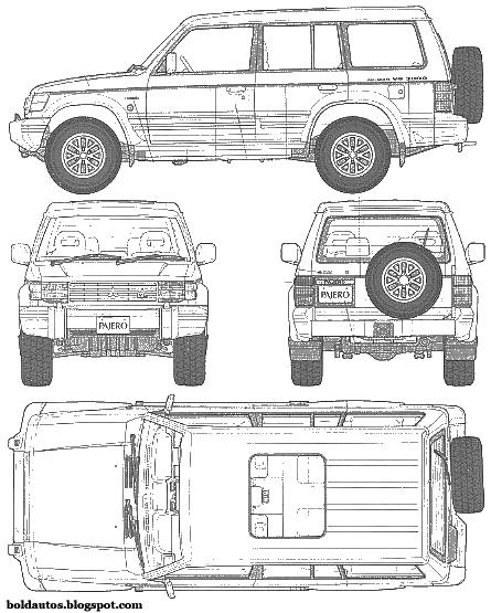 Bold Autos: Mitsubishi Pajero