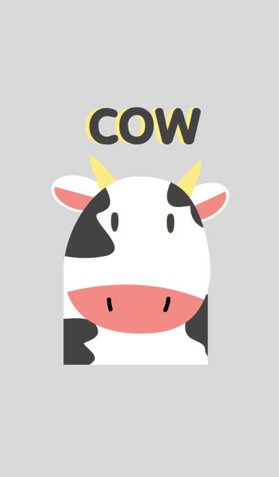 Simple cute cow theme