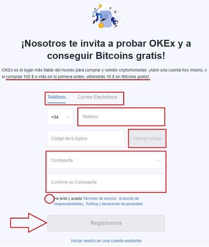 Comprar TENX (PAY) COIN en OKEX Tutorial