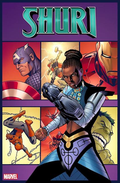 "Cómic: Anunciada serie propia para ""Shuri"" a cargo de Nnedi Okorafor y Leonardo Romero - Marvel Comics"