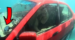 Αν βρίσκεστε σε αμάξι που βυθίζεται, πρέπει να κάνετε Αυτό για να σωθείτε. Δεν είχαμε ιδέα!