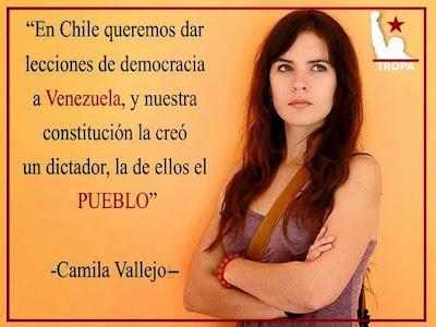 Camila Vallejo Y la Constitución de Su País