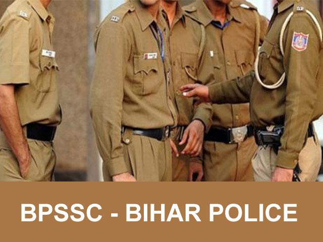 bpssc bihar police exam