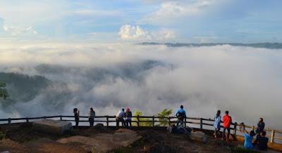 Kebun Buah Mangunan, bila memandang wisata yang berada atas puncak tentunya luar biasa