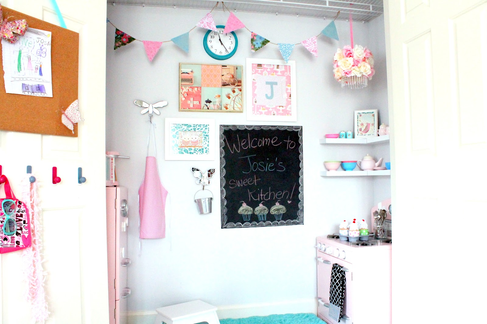 Beautiful Play Room In A Closet