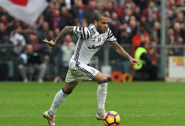 Shanghai SIPG want Juventus Dani Alves