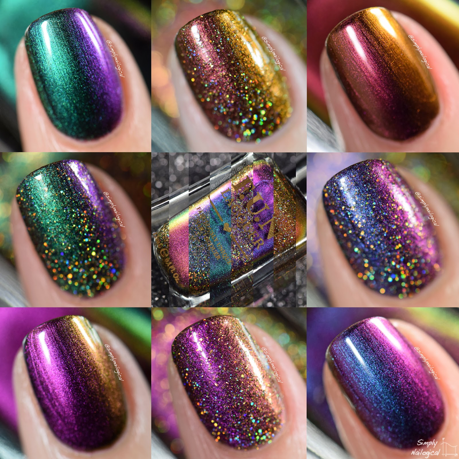 Simply Nailogical: Swatches