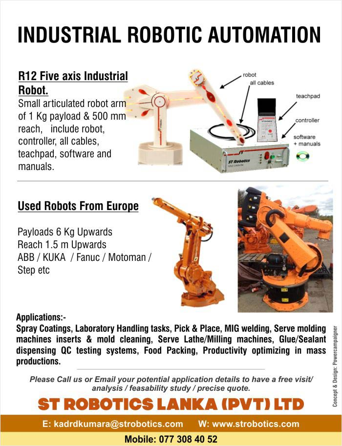 Industrial Robotic Automation