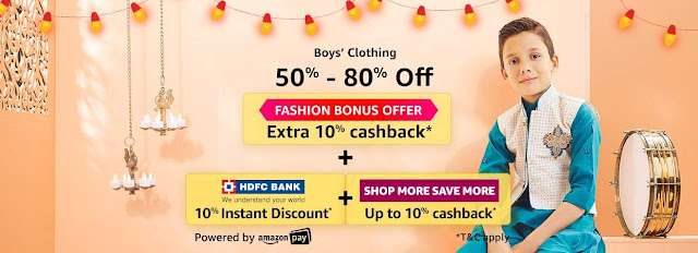 BOYS' CLOTHING 50% to 80% off