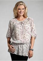 Bluză cu aspect modern de tunică(bonprix)