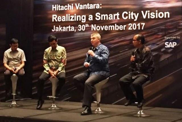 Hitachi Siap Garap Smart City di Indonesia