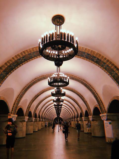 stacja metra kijów