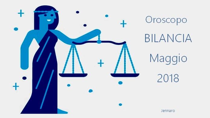 Oroscopo maggio 2018 Bilancia