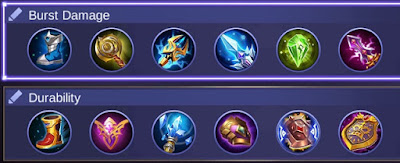 Build Item Faramis Mobile Legends