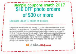 free Walgreens coupons for march 2017