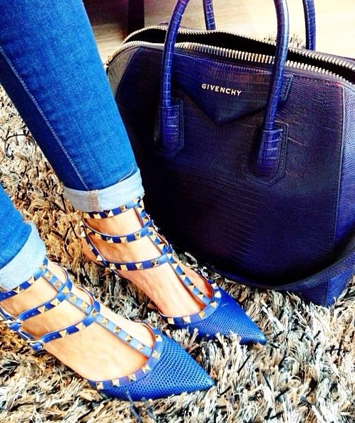 Givenchy Bag and Valentino Shoes