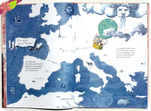 Emma à Rome de Claire Frossard et Christophe Urbain - Belin jeunesse