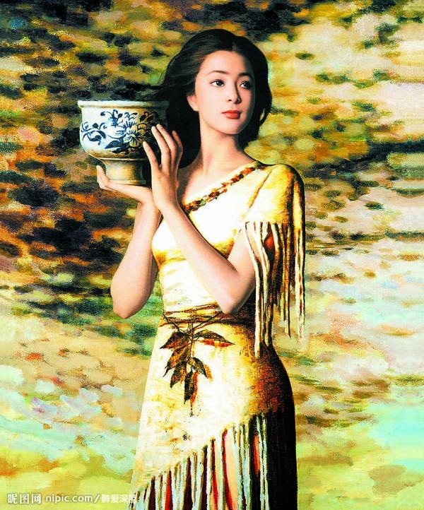 Awesome Oil Paintings by Xie Chuyu