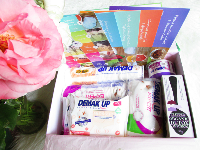 Demakup Detox Challenge Box Inhalt