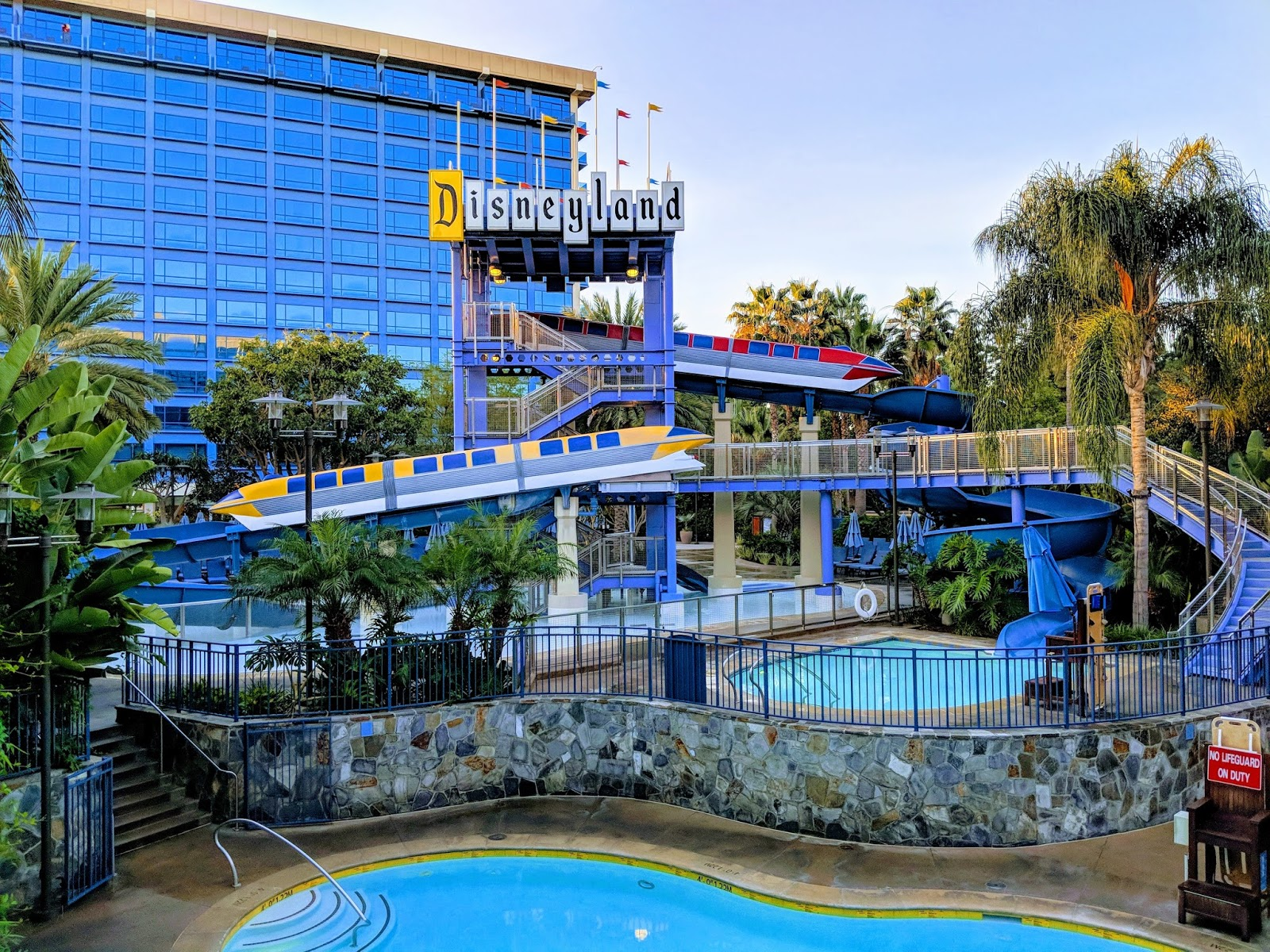 The Disneyland Hotel Is Comprised Of Three Separate Towers Fantasy Tower Adventure And Frontier Main Lobby Area Located In