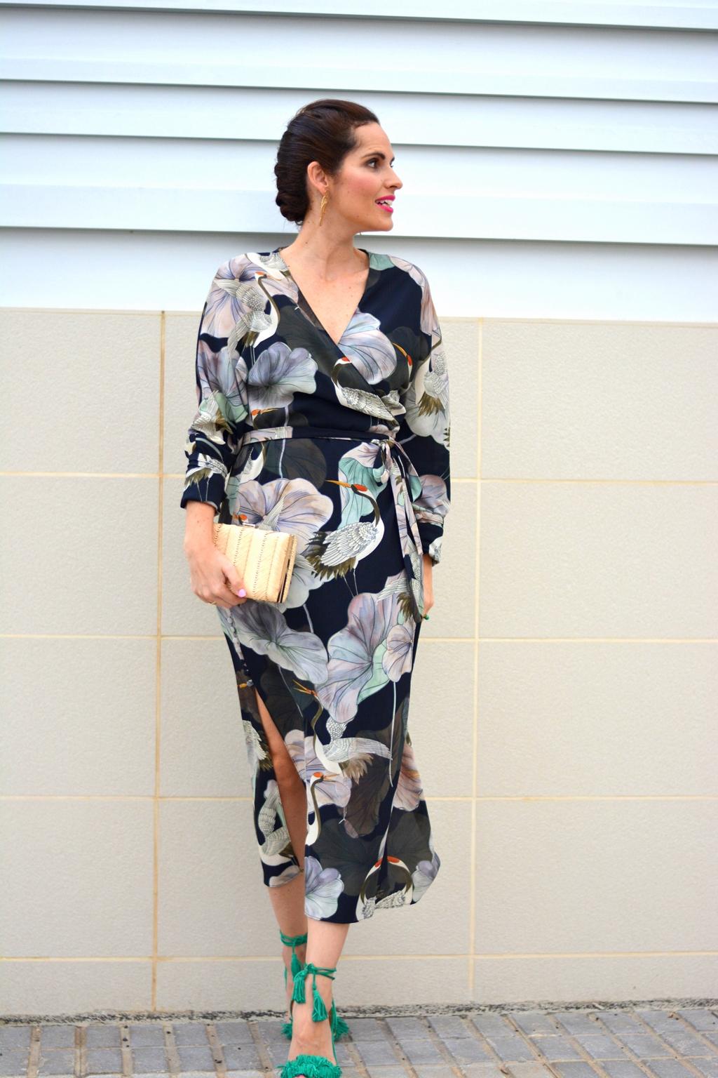 zara-kimono-dress-outfit-evento
