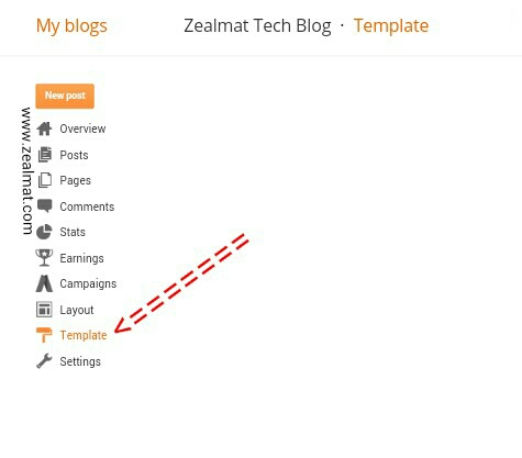 How To Backup/Restore Template In New Blogger Interface