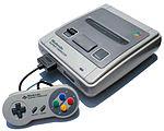 Primera versión del SNES lanzado en japón