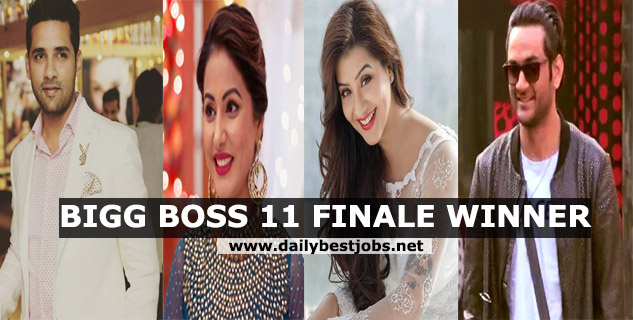 Bigg Boss 11 Winner Name 2018, Bigg Boss 11 Prize Money, Bigg Boss 11 Finale Winner