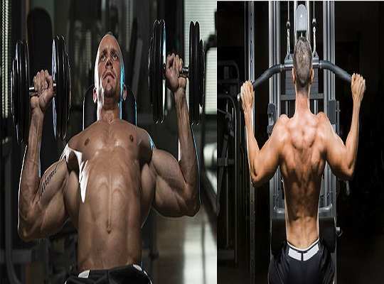 Best Workout Routine: Training Chest & Back Together For Mind