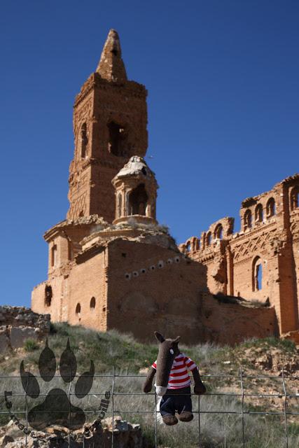 Espagne-aragon-ruines-eglise-belchite