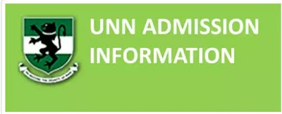 UNN 2017/2018 SCREENING EXERCISE FOR ADMISSION (Time Table)