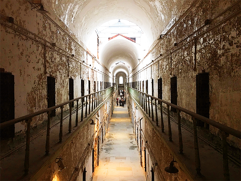 Eastern State Penitentiary, Philadelphia, PA. Lumière & Lens