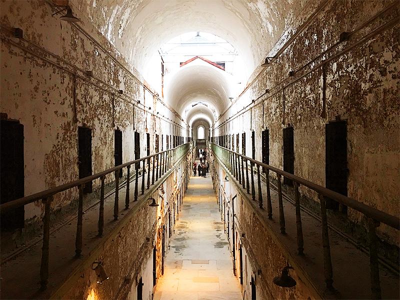 Eastern State Penitentiary, Philadelphia, PA. Lumière & Lens